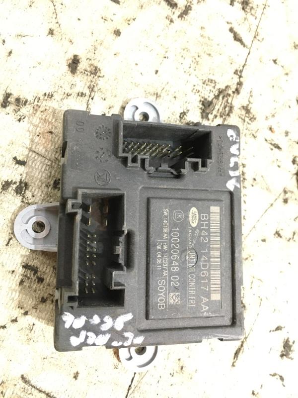 Блок комфорта передний левый jaguar XF 2011 cc9 AJ30 10020648 контрактная
