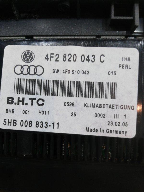 Блок управления климат-контролем A6 2005 C6 BDW