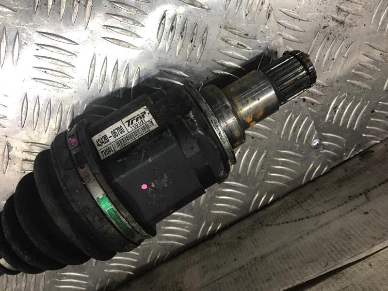 Привод передний левый Camry 2011 acv40 2AZ-FE