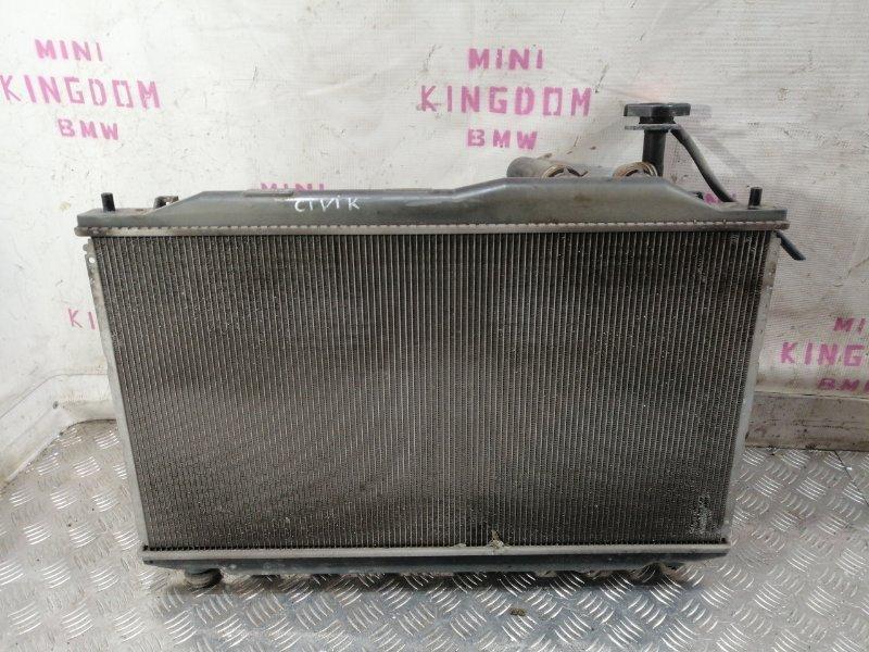 Радиатор двигателя Honda Civic 8 (fd1) 19010RSAG01 контрактная