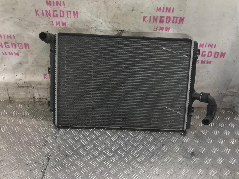 Радиатор охлаждения Volkswagen Jetta 5 1k0121251ab контрактная