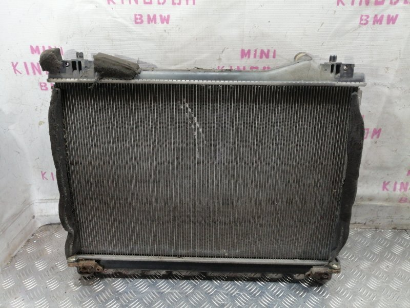 Радиатор двигателя Suzuki Grand Vitara 2006 JT J20A 1770065J00 контрактная