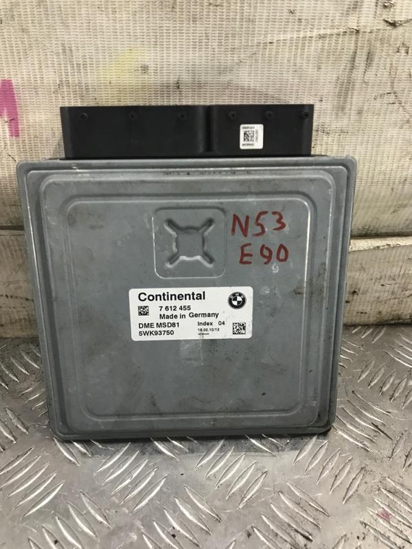 Блок управления двигателем BMW 3-Series 2010 E90LCI N53B30A 12147612455 контрактная