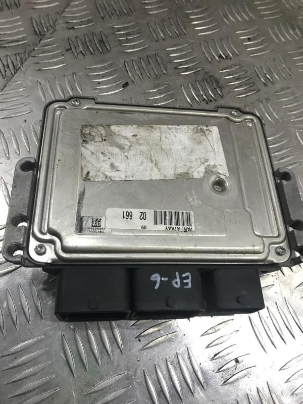 Блок управления двигателем peugeot 207