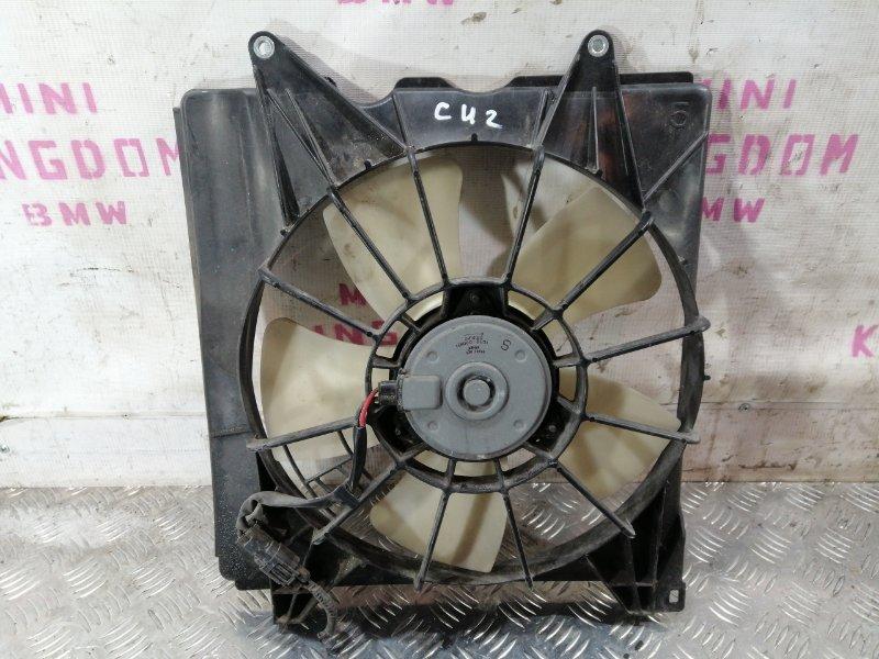 Вентилятор радиатора левый Honda Accord 8 (cw) 19015R60U01 Б/У