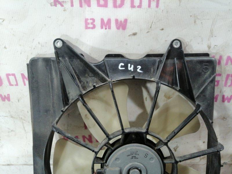 Вентилятор радиатора левый Honda Accord 8 (cw)