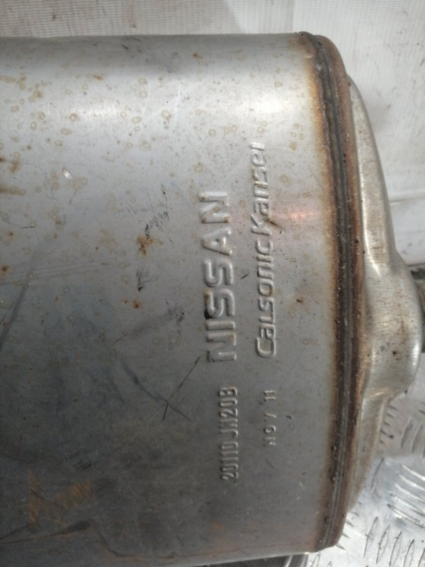Глушитель Nissan Teana J32