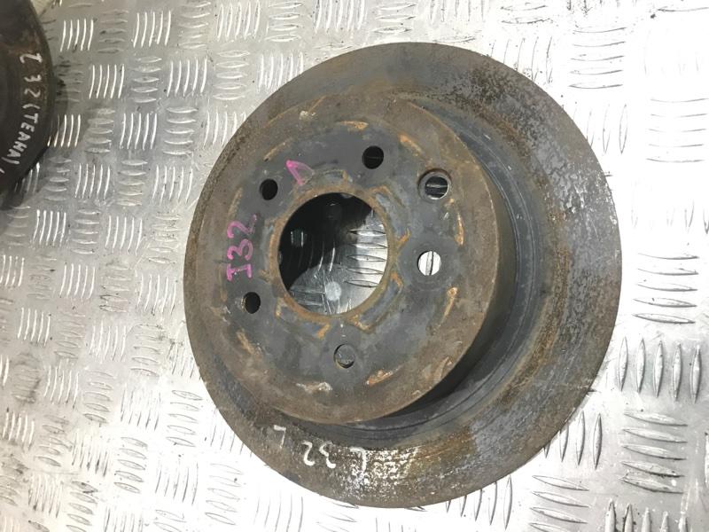 Тормозной диск задний Teana 2012 J32 VQ25DE