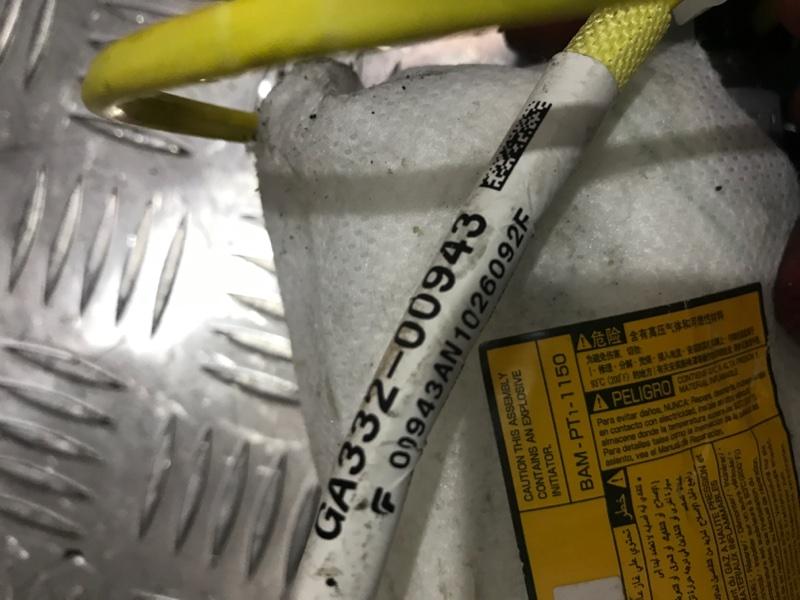 Подушка безопасности правая Camry 2011 acv40 2AZ-FE