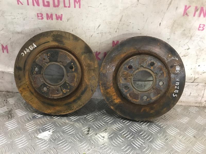 Тормозной диск передний Suzuki sx4 2007 yb41s J20A 11279318892 контрактная