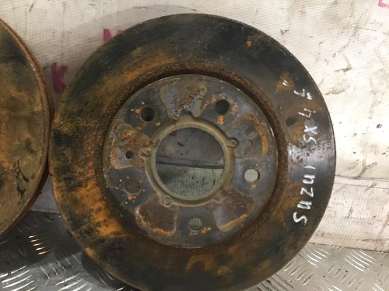 Тормозной диск передний sx4 2007 yb41s J20A
