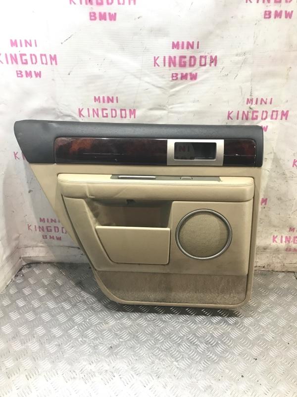 Обшивка салона задняя левая Lincoln Navigator 2005 2 (U228) 5.4 4l747827407 контрактная