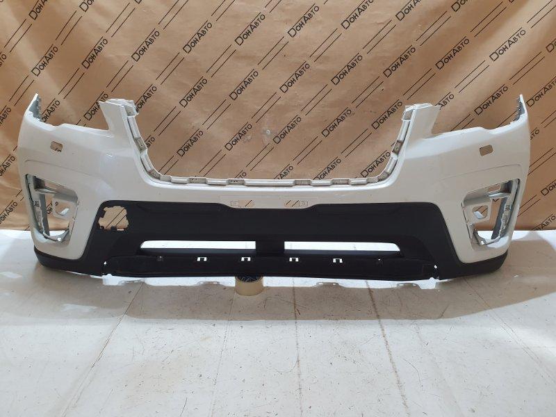 Бампер передний Subaru Forester 5 57704SJ000 БУ