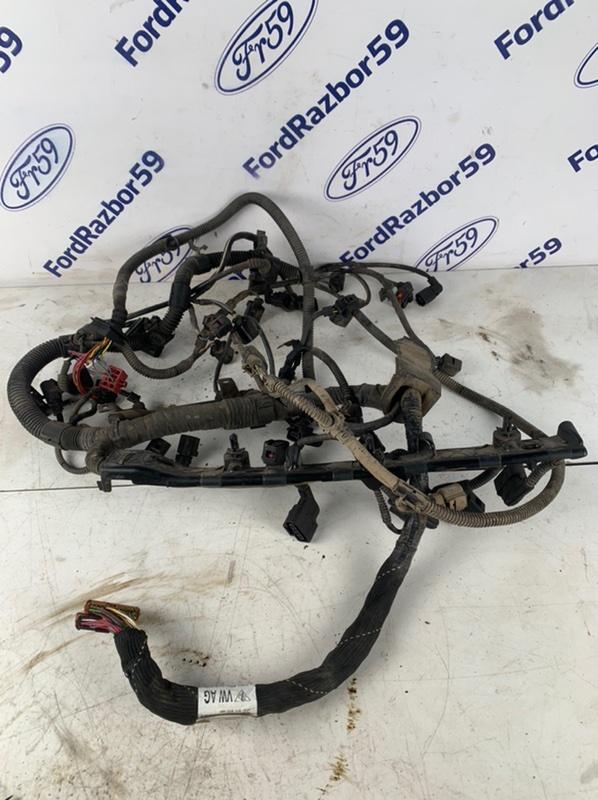 Проводка подкапотная Volkswagen Touareg 2012 7P5 3.6 (CGRA) 03H971610AS Б/У