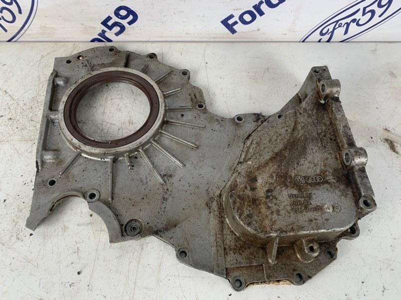 Крышка двигателя задняя Volkswagen Touareg 2012 7P5 3.6 (CGRA) 03H103173 Б/У