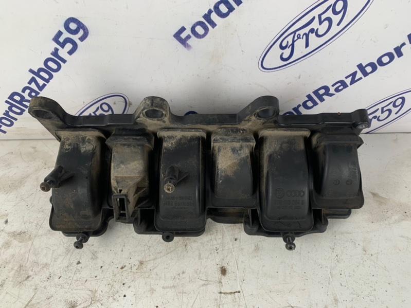 Коллектор впускной Volkswagen Touareg 2012 7P5 3.6 (CGRA) 03H133204B Б/У