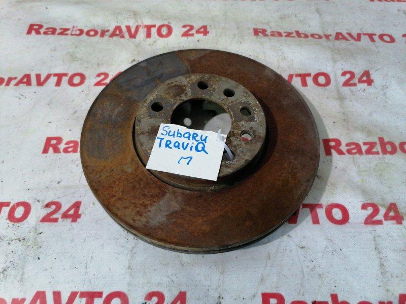 Диск тормозной передний Subaru Traviq 2002 XM220 Z22SE Б/У