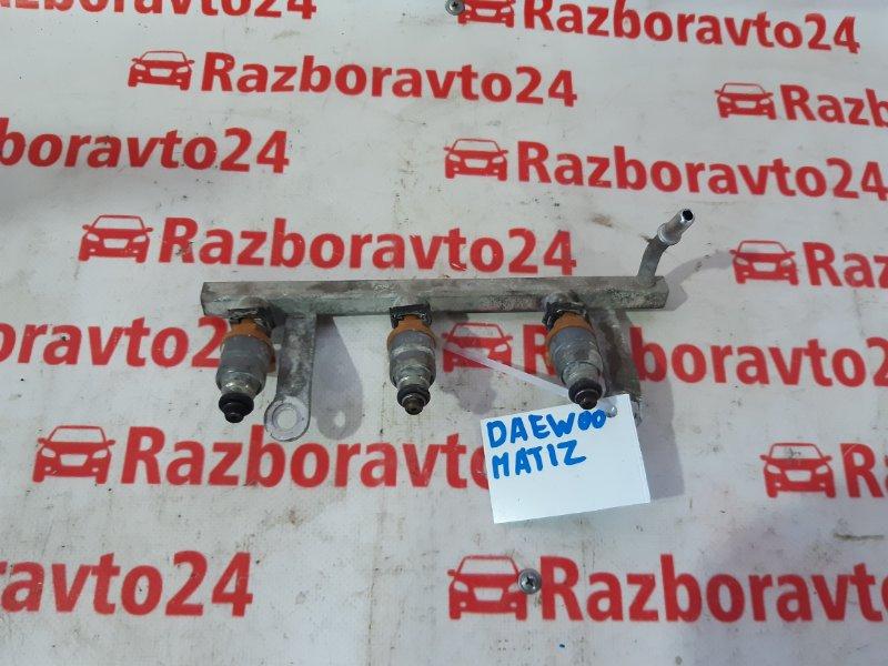 Форсунка Daewoo Matiz 2010 KLYA F8CV Б/У
