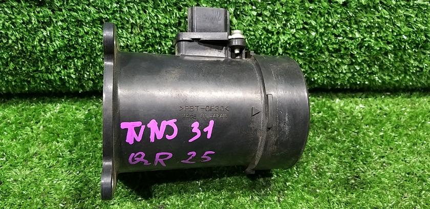 Датчик расхода воздуха NISSAN Teana 2007 TNJ31 QR25DE 22680 7S000 контрактная