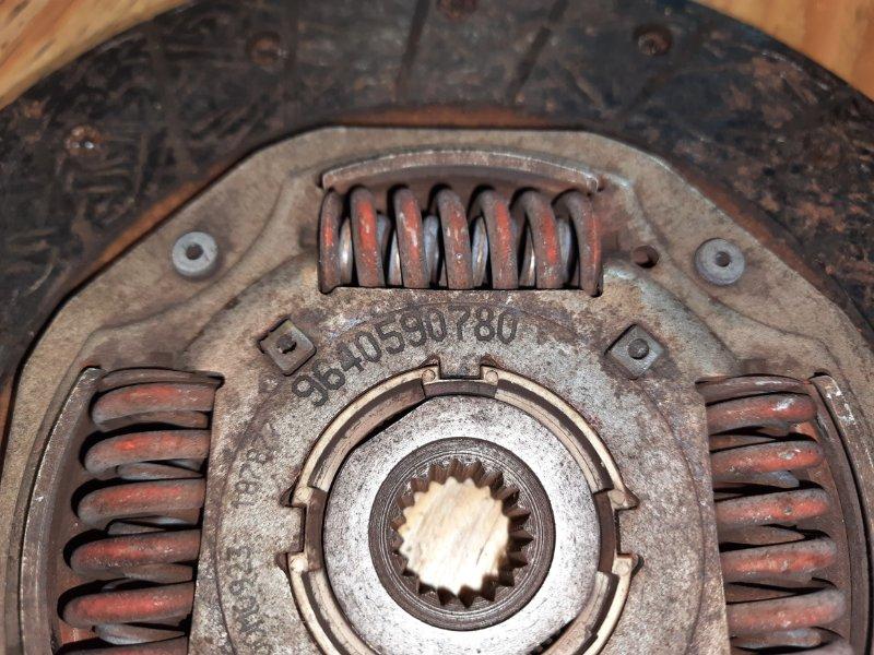 Диск сцепления 206 2006 2C EW10J4