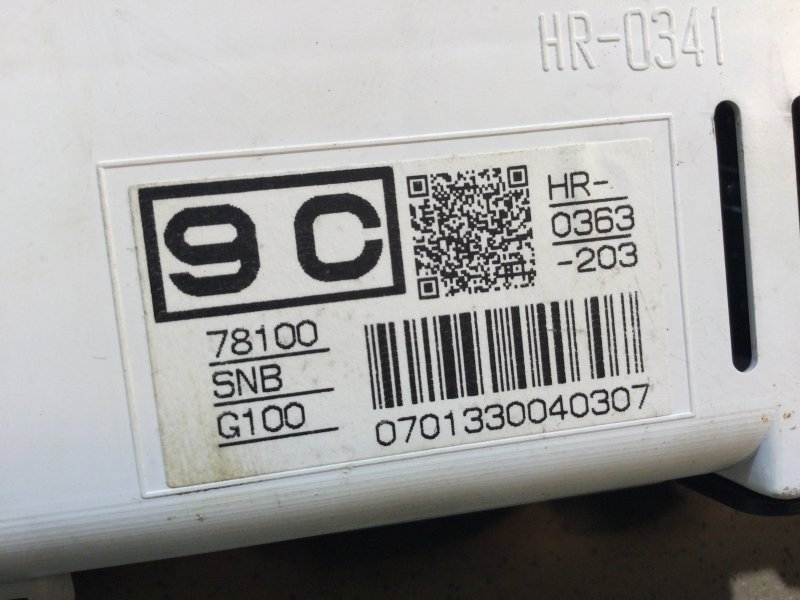 Панель приборов Honda Civic 4D