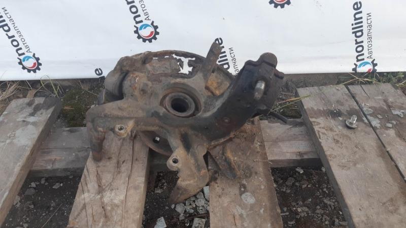 Кулак поворотный передний правый Skoda Fabia 2 2008 Combi 1.2 BZG 6Q0407256AC Б/У