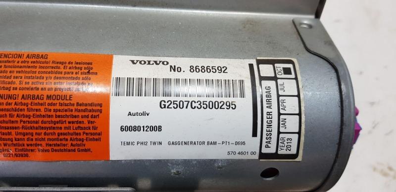 Подушка безопасности пассажира Volvo XC90 Универсал 2.9 B6294T