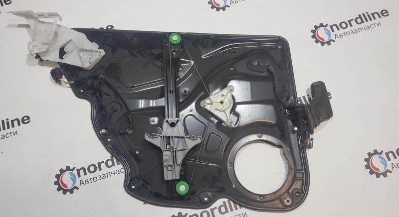 Механизм стеклоподъёмника задний правый Passat B6 2008 универсал 1.9 BXE