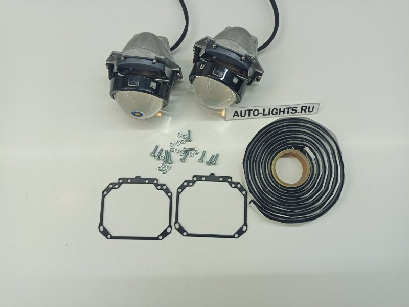 Линзы фары Chrysler Grand Voyager V Bi-LED Hella3r Dixel новая