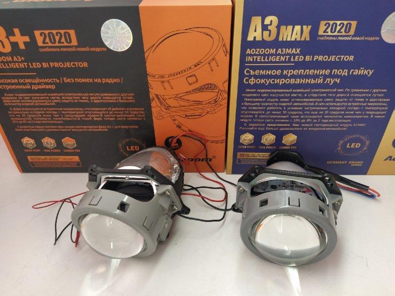 Линзы фары Infiniti FX35/45 Bi-LED Hella3r Aozoom Infiniti FX35 S50