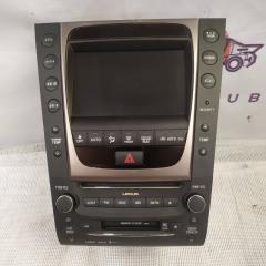 Запчасть мультимедия Lexus GS 2007