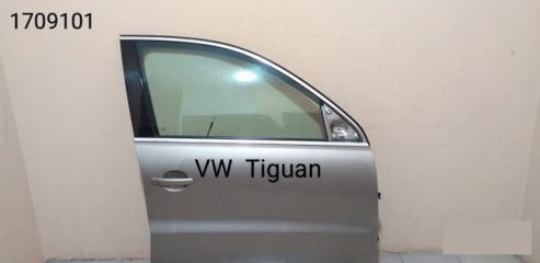 Молдинг двери хромированный VW Tiguan 2008-2017