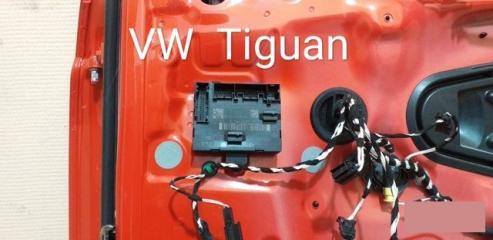 Блок управления двери передний правый Volkswagen Tiguan 2 2016-2020