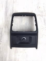 Накладка центральной консоли задняя Audi A4 2016-