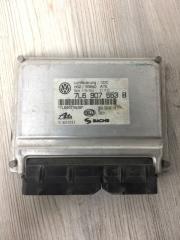 Блок управления пневмоподвески VW Touareg 2003-2010