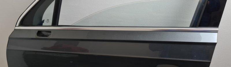 Накладка стекла двери передняя левая Audi Q7 2016