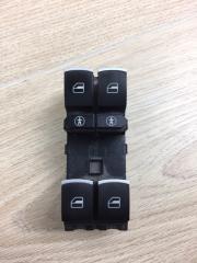 Запчасть кнопки стеклоподьемника передние левые VW Touareg 2 2010 - 2018