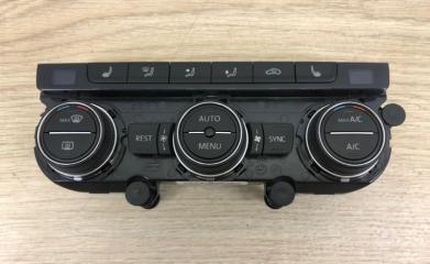 Панель управления климатом VW Passat B8 2015-