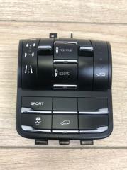 Блок кнопок пневмоподвески Porsche Cayenne 2012