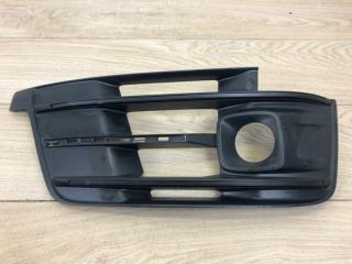 Решетка бампера боковая передняя правая Audi Q7 S-line 2015-