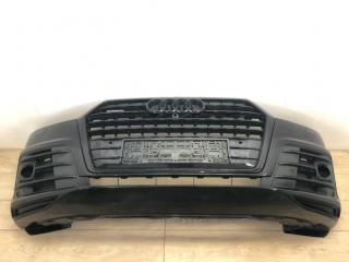 Бампер в сборе передний Audi Q7 S-line 2015-