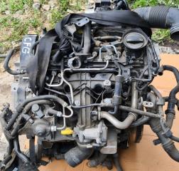 Запчасть двигатель дизельный VW Tiguan 2011-2018
