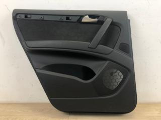 Обшивка двери задняя левая Audi Q7 2005-