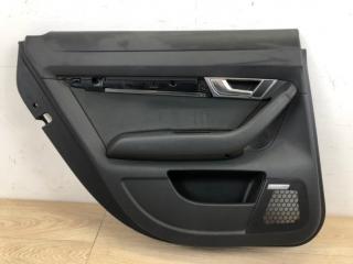 Обшивка двери задняя левая Audi A6 2004-2010
