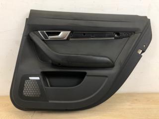 Обшивка двери задняя правая Audi A6 2004-2010