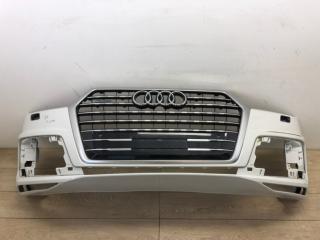 Бампер в сборе с решеткой радиатора передний Audi Q7 S-line 2015-