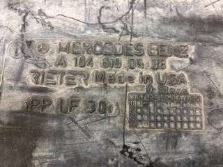 Облицовка днища правая Mercedes ML W164