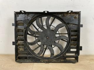 Вентилятор охлаждения в сборе с диффузором VW Touareg 2 2010-2018