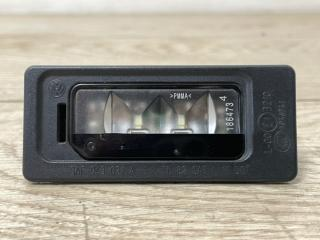 Запчасть фонарь подсветки номера VW Touareg GP R-Line 2007
