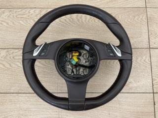 Руль с подогревом Porsche Cayenne V8 Turbo 2012